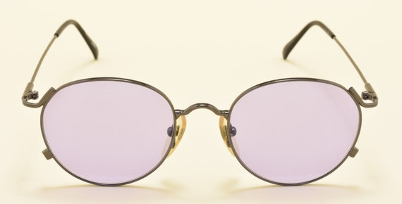 Jean Paul Gaultier 55-2176 round shape / light metal frame / classic design / NOS / Made in Japan / Vintage sunglasses