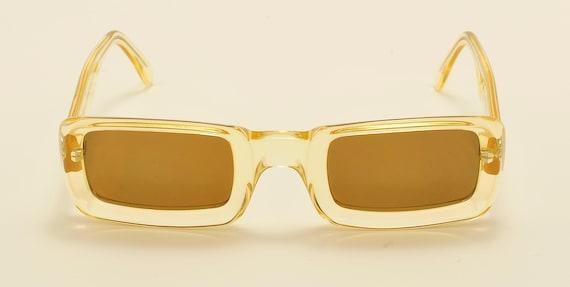 Robert La Roche mod. S 142 squared shape / acetate frame / 80s / NOS / Made in Austria / Vintage sunglasses