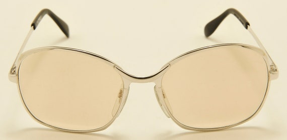 """Metzler """"SunDay Carl Zeiss Umbramatic 35"""" silvery frame / 70s model / Made in West Germany / NOS / Vintage sunglasses"""