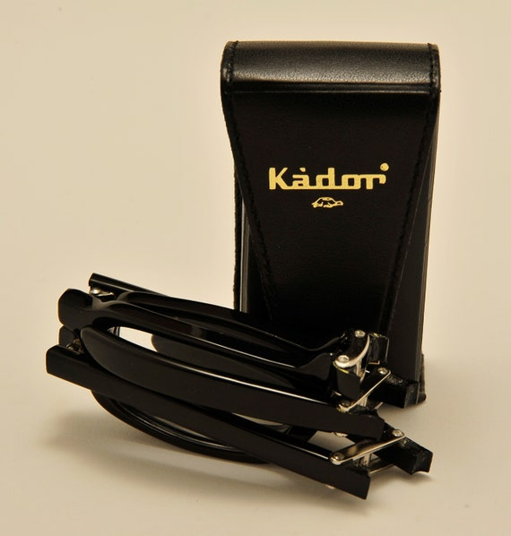 KADOR folding reading glasses / acetate frame / handmade in Italy / NOS / 90s