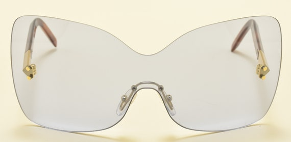 FENDI FS5273 col. 424 / Oversize Square Limited Edition sunglasses / Super stylish / NOS / Made in Italy / Acetate and metal frame