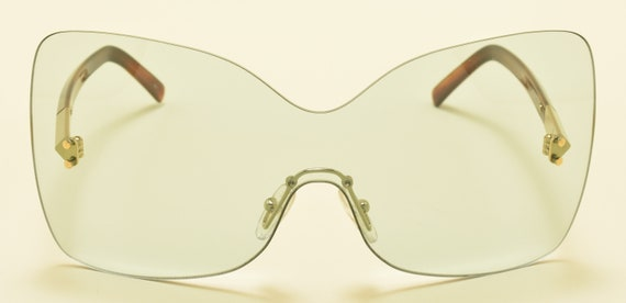 FENDI FS5273 col. 467 / Oversize Square Limited Edition sunglasses / Super stylish / NOS / Made in Italy / Acetate and metal frame