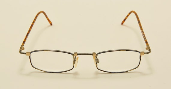 Robert Rudger 0022 squared shape / light metal frame / 80s model / NOS / Made in Austria / demo lenses / Vintage eyeglasses