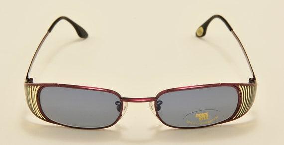 "Casanova ""Dolce Vita DVS-50"" squared shape / special sides details / Made in Italy / 80s model / NOS / original lenses / Vintage sunglasses"