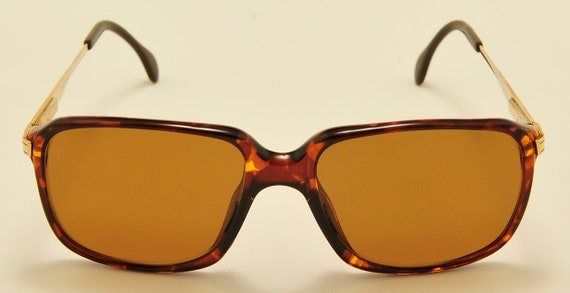 Carl Zeiss 2117 squared shape / luxury taste / Made in Germany / 80s model / NOS / Carl Zeiss Polarized Lenses / Vintage sunglasses