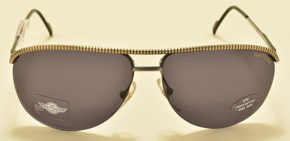 DAYTONA by Safilo 857 FV2 aviator pilot / metal frame / NOS / 90S / made in italy / original lenses / vintage sunglasses