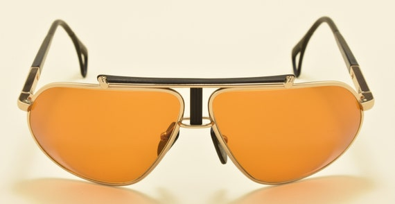 Killy 470 70 sport aviator / metal frame / NOS / 80s / Made in France / Skylet 1.5 Zeiss  / bridge adaptable in height / Vintage sunglasses