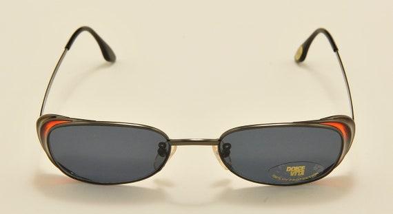 "Casanova ""Dolce Vita C-02"" squared shape / special sides details / Made in Italy / 80s model / NOS / original lenses / Vintage sunglasses"