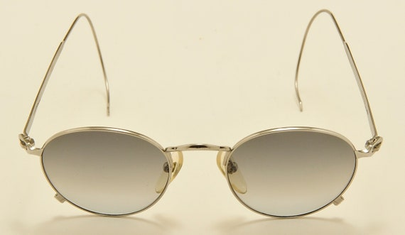 Jean Paul Gaultier 55-0176 round shape / steel frame / Made in Japan / 90s model / NOS / Vintage sunglasses