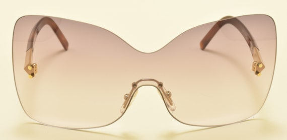 FENDI FS5273 col. 513 / Oversize Square Limited Edition sunglasses / Super stylish / NOS / Made in Italy / Acetate and metal frame