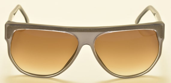 Trussardi 101E squared shape / acetate frame / fashion model / 90s / NOS / Made in Italy / Vintage sunglasses