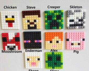 Minecraft Perler Bead Etsy