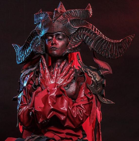 Diablo cosplay| diablo pattern Lilith Diablo 4 cosplay suit pattern download file Lilith pattern | | Lilith cosplay