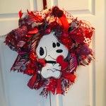 Heart Wreath, Valentine Heart Wreath, Valentine Day Heart, Valentine Front Door
