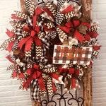 Fall Outdoor Wreath, Fall Wreath for Door, Autumn Wreath