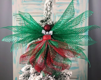 Angel Tree Topper, Christmas Tree Topper, Angel Decorations, Tree Topper