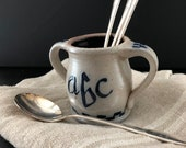 Rowe Pottery Works 1991 Small ABC Crock