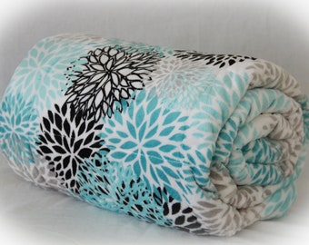 Double Minky Weighted Blanket with Glass Beads