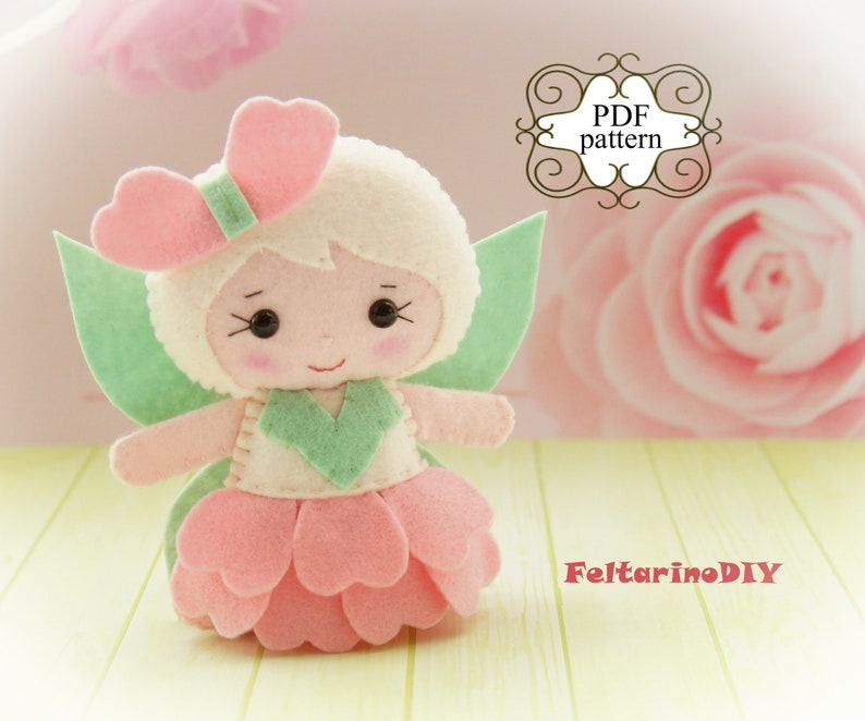 photograph about Free Printable Felt Doll Patterns referred to as Fairy doll sewing practice, Felt fairy doll practice, Felt fairy behavior, Felt doll behavior pdf, Flower fairy cell, Very simple doll routine