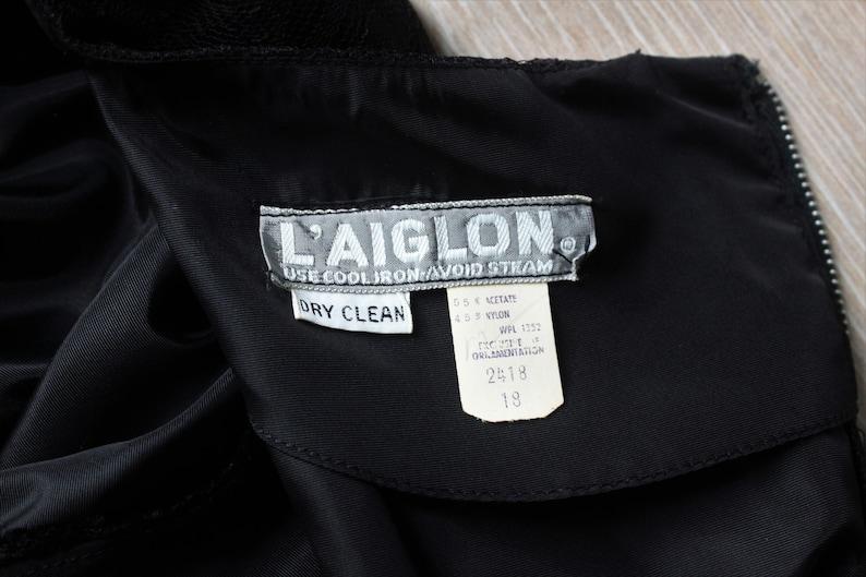 1950s Deadstock L/'Aiglon Lace Party Dress
