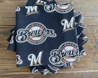 Milwaukee Brewers cocktail napkins
