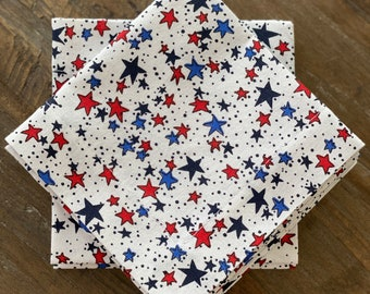4th of July cocktail napkin collection