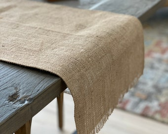 Burlap Placemat & Table runners