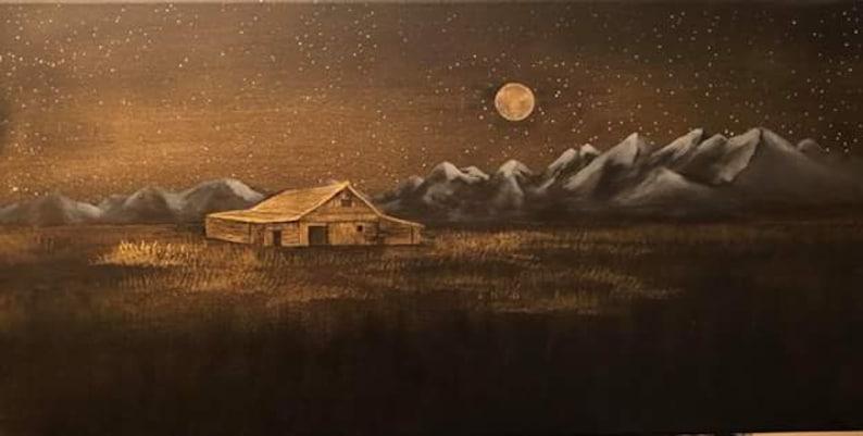Wyoming Barn in Mormon Row