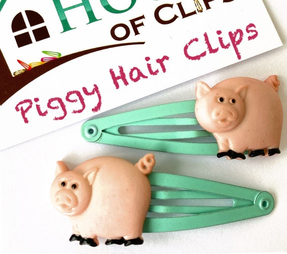 Under the sea shimmer piggy clips set of 2