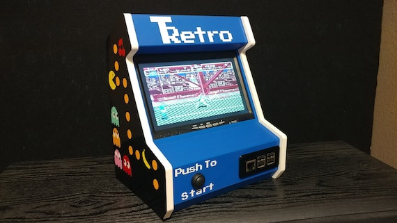 Retropie Arcade Cabinet Diy Kit Raspberry Pi 3 Not Included Etsy