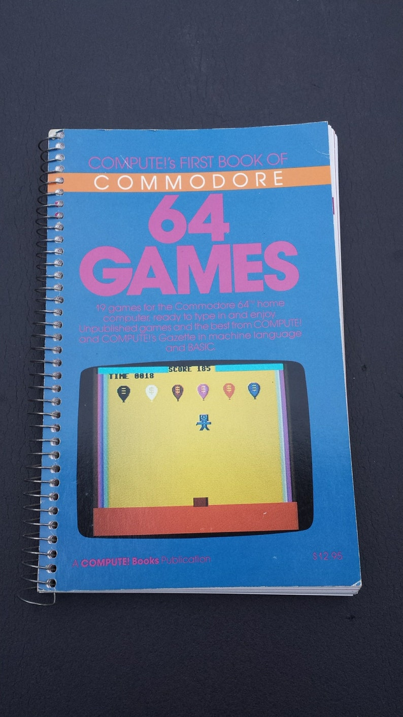Compute's First Book of Commodore 64 Games