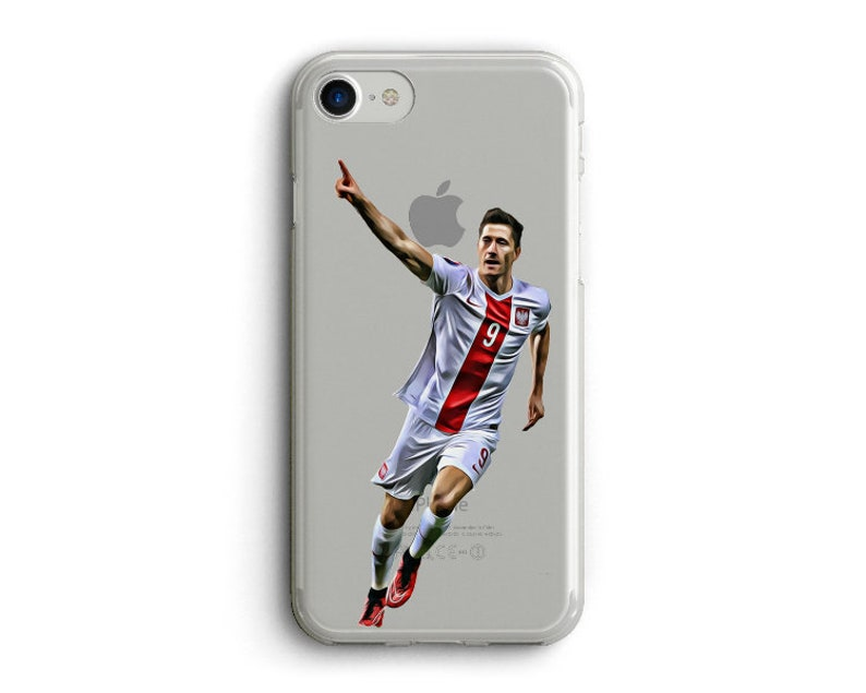 online retailer d02ef 7ba37 Robert Lewandowski Phone Case, Poland World cup i phone Case. Bayern Munich  Case, Russia 2018 World Cup, Clear Case for i phone ,6,7,8