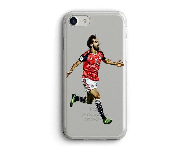 best website 00ef2 e8de8 Mohamed Salah Phone Case, Soccer, football i phone Case. Liverpool Case,  Egypt World Cup Phone Case, Clear Case for i phone ,6,7,8