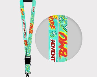 Adventure Time BMO Lanyards