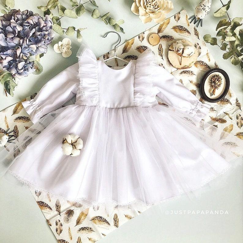 Kleid fur madchen zur taufe