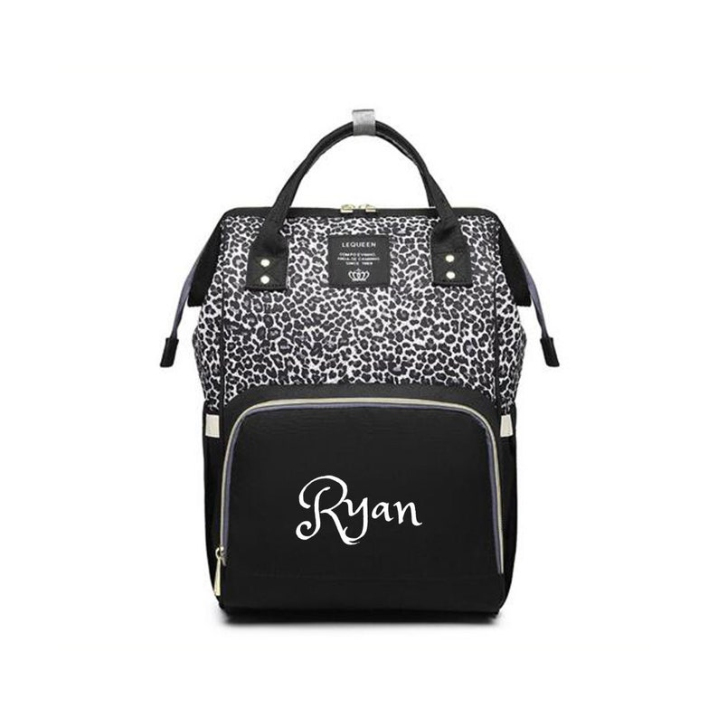 Personalized Large Diaper Bag