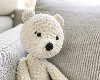 Soft Cuddly Teddy Bear- Crochet Teddy Bear