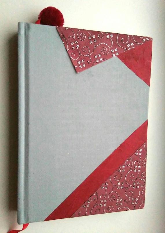 Cuaderno Decorado Con Papel Traído Desde India Totalmente Personalizable