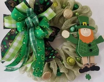 St.Patrick Day Wreath