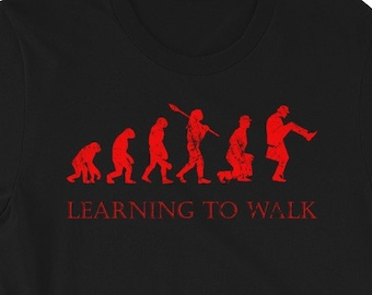 4d325124 Monty Python Shirt - Learning To Walk - Ministry Of Silly Walks - Monty  Python's Flying Circus Tshirt