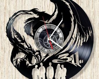 BAND 311 vinyl record wall clock unique home decor and wonderful gift idea