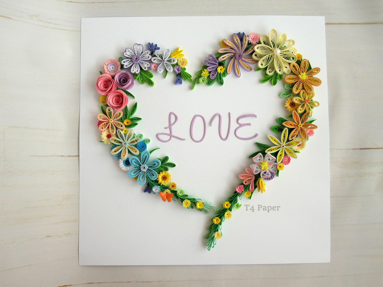 Blumenkranz in Rahmen Hochzeitsgeschenk | Etsy