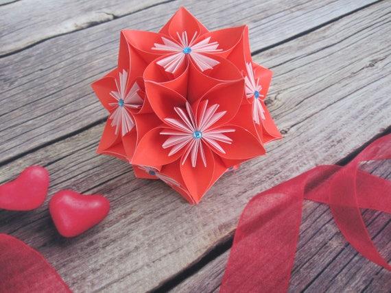 Paper flowers flower ball origami etsy image 0 mightylinksfo