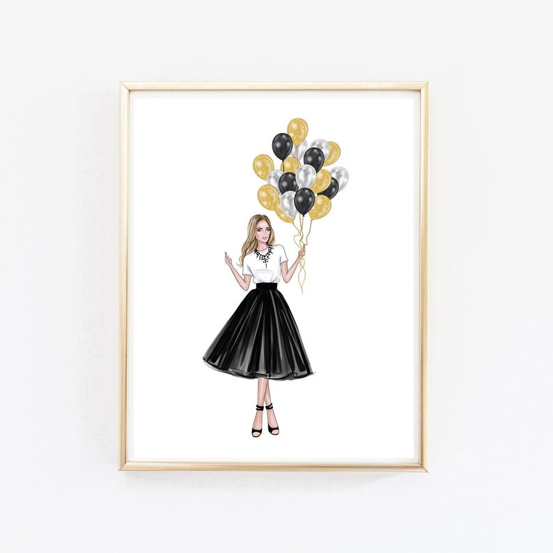 picture about Printable Fashion identify Electronic style wall artwork - Design and style instance - Printable artwork - Girly space decor - Black and white artwork - Teenager female artwork print - Dorm artwork