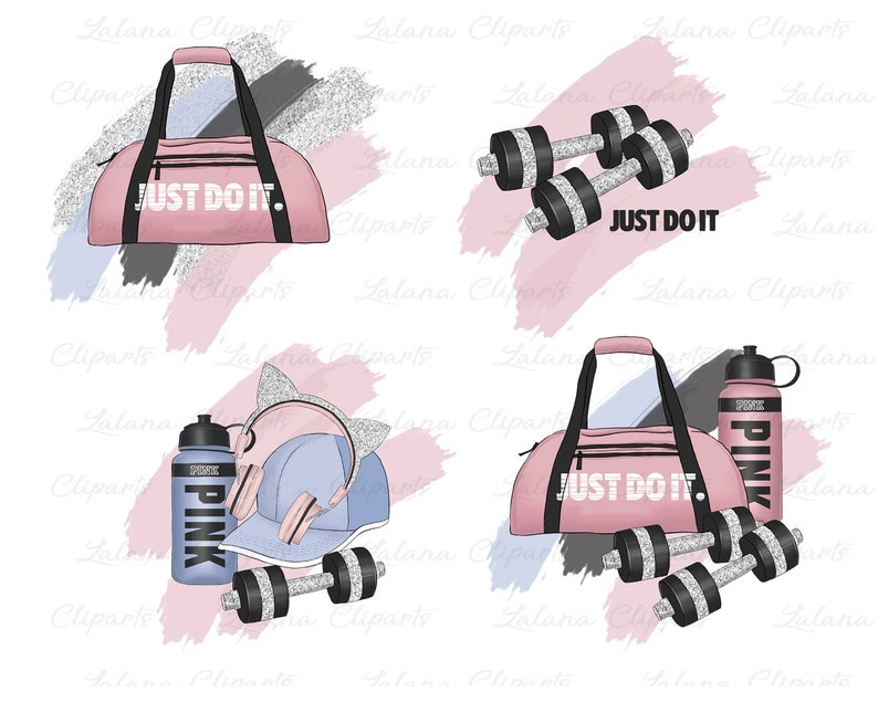 1d6219803c Fitness Girl Clipart Sports Clip Art Fashion Illustration