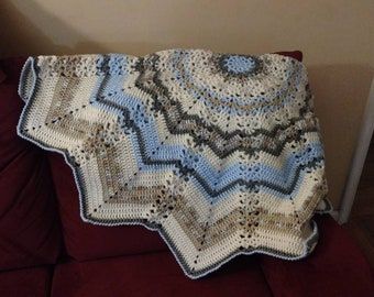 Lacy 12 point Round Ripple
