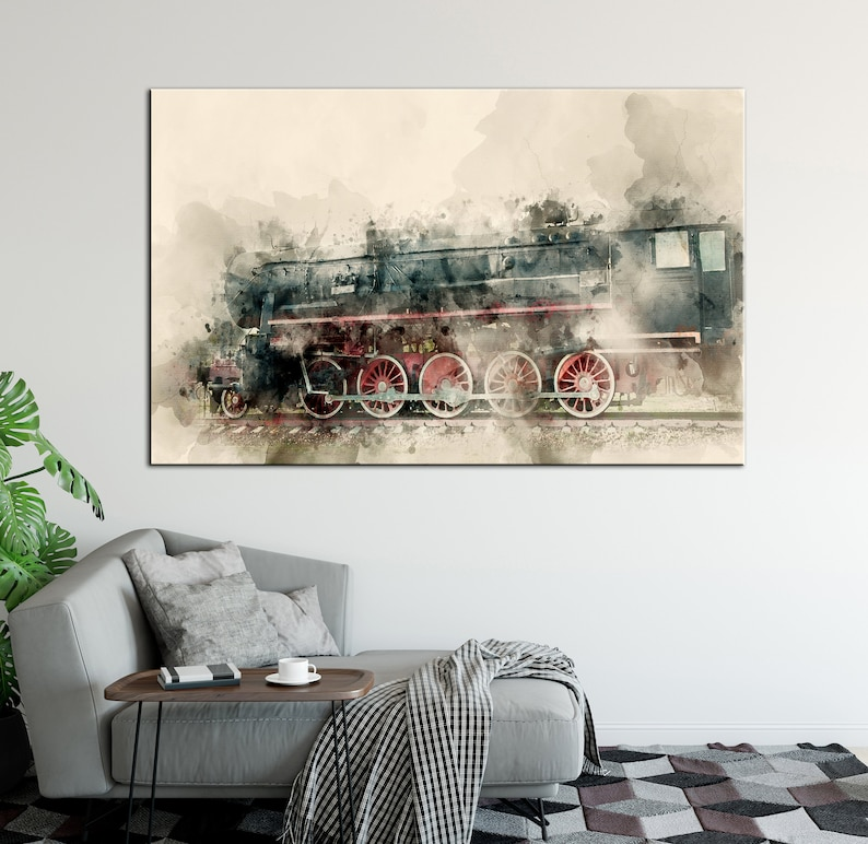 Image result for on the train in 20th century art