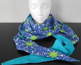 Scarf two-sided personalized cotton triangle scarf/shawl