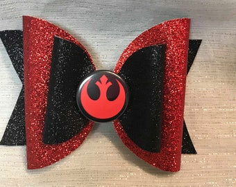 Rebel Alliance Bow // Star Wars Bow // Disney Bows