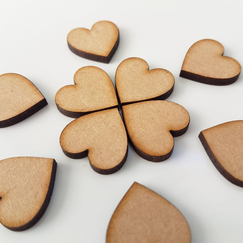 Wooden mdf extra large SANTA  craft shapes tags tree decor 3 PACK 3mm Thick